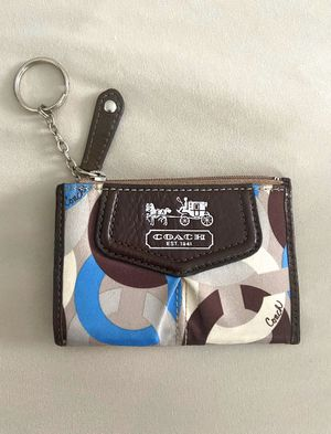 Coach small keychain wallet for Sale in Houston, TX
