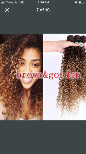Synthetic blend bundles curly for Sale in Wichita, KS