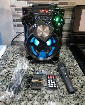 Bluetooth Wireless BT Speaker Portable Wireless Boombox Mutifunctional Stereo Speaker for Sale in East Orange, NJ