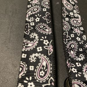Black And Pink Paisley Nylon Dog Collar for Sale in Beaverton, OR