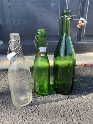 Antique glass bottles for Sale in Gilbertsville, PA