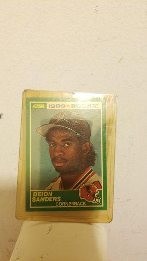 1989 ROOKIE DEION SANDERS CARD for Sale in Springfield, VA
