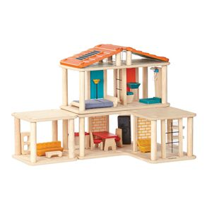 New Plan Toys Wooden Creative Play House Doll House For Toddlers & Kids for Sale in Burbank, CA
