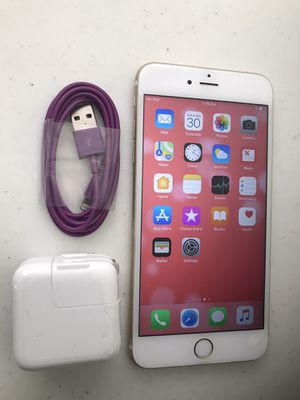 Apple iPhone 6S plus 64 GB unlocked. Color gold Rose. Works very well. Included charger. Perfect condition. for Sale in Taylorsville, UT
