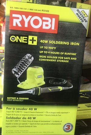 Ryobi 18v Soldering Iron for Sale in Lakeland, FL