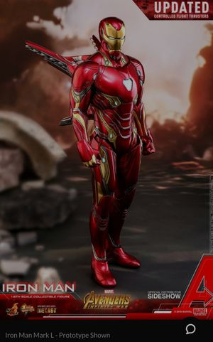 Hot toys iron man infinity war for Sale in San Juan, TX