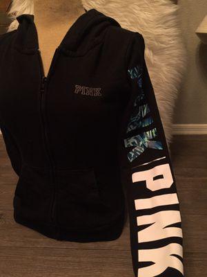VS Pink Black Hoodie, Size Small for Sale in Phoenix, AZ