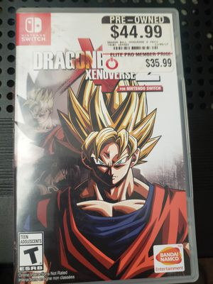 Dragon Ball Xenoverse 2 Nintendo Switch for Sale in San Diego, CA