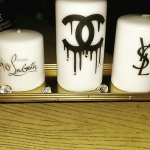 Custom designer inspired candles an photo candles by me for Sale in Baltimore, MD
