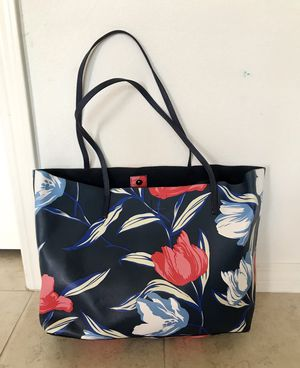 Large Navy Floral Tote for Sale in San Gabriel, CA