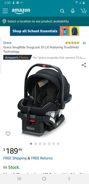 Graco SnugRide 35 True Shield Carseat and Stroller for Sale in Brentwood, NC