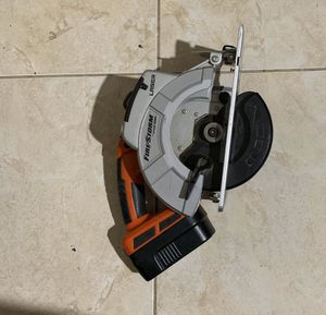Black and Decker Storm Drill and Turns to Impact Drill, Circular Saw , Saw, all have Batteries and and 2 Fast chargers No Trades/ Pick Up Only for Sale in Lauderdale Lakes, FL
