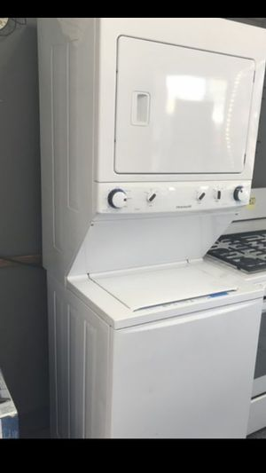 STACKABLE WASHER AND DRYER FRIGIDAIRE for Sale in La Habra Heights, CA