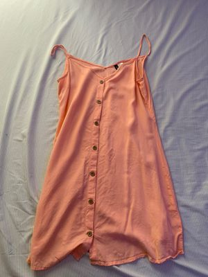 Peach Button-Up Casual Dress for Sale in Cheney, WA