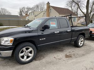 08 Dodge Ram. TITLE IN HAND! 2wd, newer transmission, new seals? New radiator and AC condenser, crack in windshield (185 fixed) non smoker, great wor for Sale in Aurora, IL