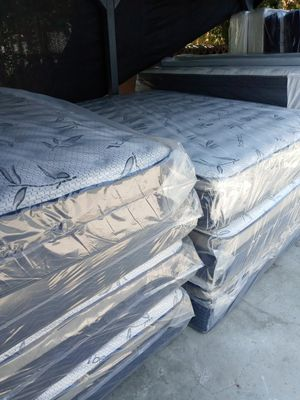🛌💤queen size mattress💥🌛🌜💯new ⭐📞pillow top for Sale in Ontario, CA