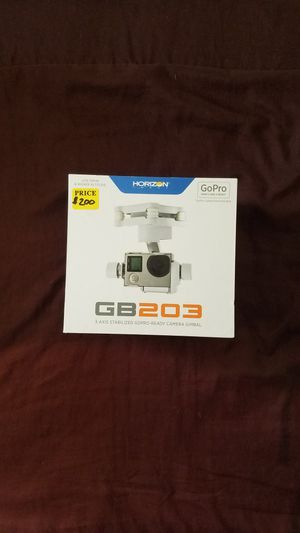 Horizon Hobby gb203 3-axis stabilized GoPro ready camera gimbal for Sale in Phoenix, AZ