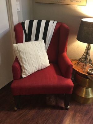 Red chair for Sale in Vancouver, WA