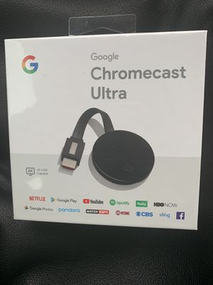 Chromecast ULTRA for Sale in Oxon Hill, MD
