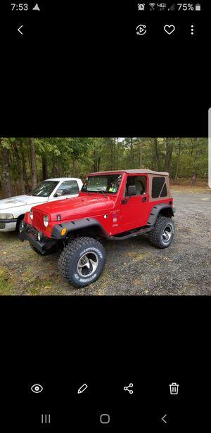 1997 Jeep Wrangler TJ for Sale in Egg Harbor City, NJ