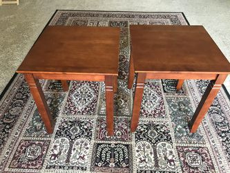 Two Wooden Side Tables for Sale in Visalia, CA