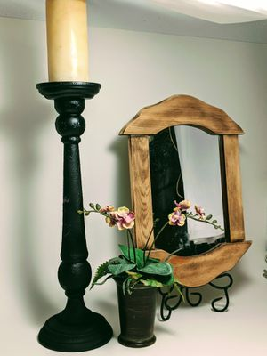 "Embossed Large Candlestick ""Reflections"" Decor Bundle for Sale in Orlando, FL"
