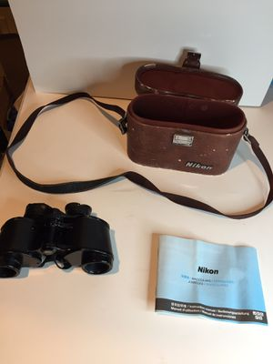 Vintage Nikon binoculars for Sale in Des Plaines, IL