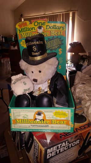 Millionaire teddy bear made by Commonwealth for Sale in Ontario, CA