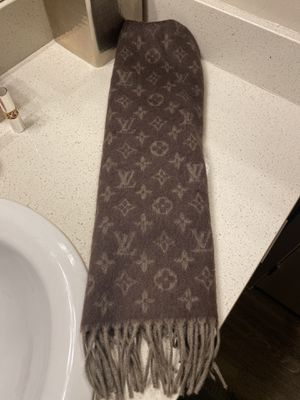 Louis Vuitton cashmere & wool scarf for Sale in Gilbert, AZ