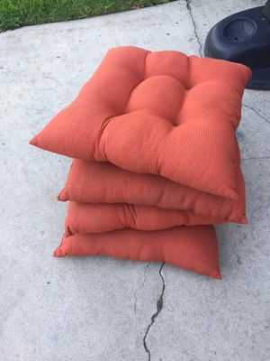 Orange Seat Cushion Pillows for Sale in Whittier, CA
