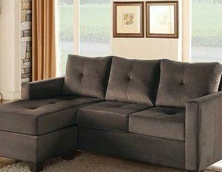 Phelps Reversible Sectional Sofa Brown 9789 VENDORHOMELEGANCE for Sale in Houston,  TX