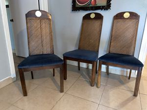 3 dining chairs for Sale in Mineola, TX