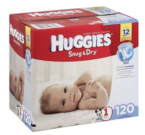 Huggies size 1 for Sale in Fort Worth, TX