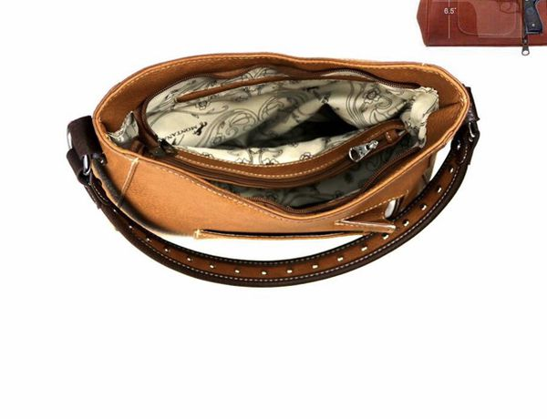 Montana west concealed carry hobo bag