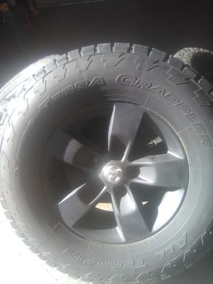 98 Ram {contact info removed} tires and rims for Sale in Lilly, PA