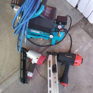 Air Compressor And Nailes for Sale in Phoenix, AZ