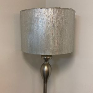 Lamp Stand With Sliver Shade for Sale in Columbus, OH