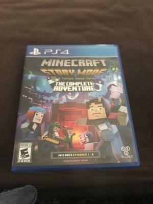 Minecraft story mode season 1 for Sale in Lodi, CA