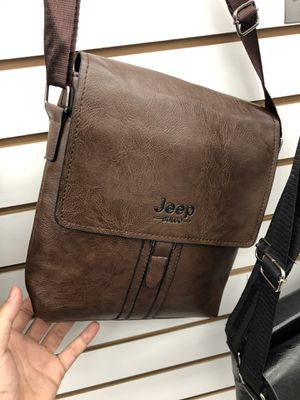Brown Leather crossbody Messenger bag for Sale in Azusa, CA