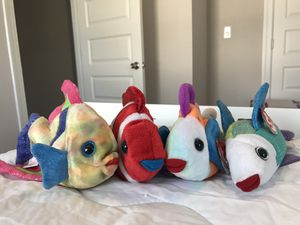 Fish Ty Beanie Babies for Sale in Norfolk, VA