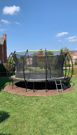Sky bound Stratus Trampoline- must go for Sale in Bloomingdale, IL