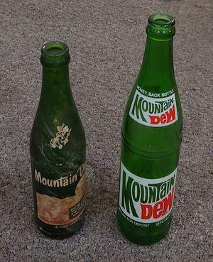 Antique Mountain Dew Bottles $5.00 Each for Sale in Burlington, NC