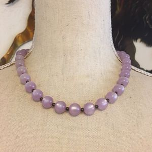 Vintage faux moonstone bead necklace for Sale in Henderson, NV