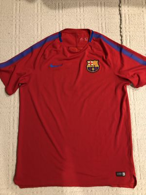 Fc barcelona training jersey for Sale in Springfield, VA