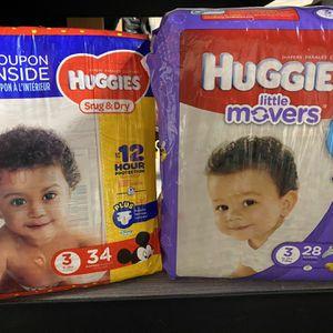2'packs Of Huggies for Sale in La Puente, CA