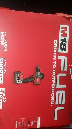 Milwaukee M18 brushless half inch hammer drill for Sale in Sandy, UT
