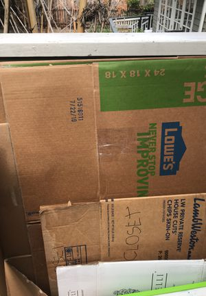 FREE moving boxes. Pick up Mission Hills for Sale in Chula Vista, CA