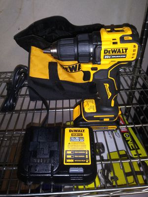Dewalt cordless atomic drill with battery n charger for Sale in Colton, CA