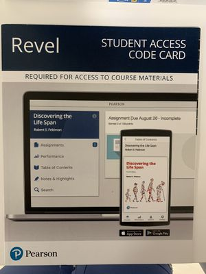 Revel Student access code for CLP for Sale in Hialeah, FL