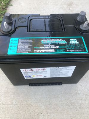 NEW Centennial RV Marine Deep Cycle Battery DP24MF Group CA 625 Maintenance Free for Sale in Carmichael, CA
